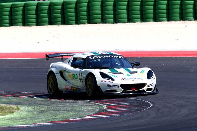 Photo of Lotus Elise S racing test in pista a Misano