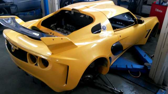 Photo of Lotus Exige elaborazione 220 CV