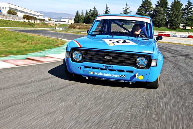 Photo of Fiat 128 Gruppo 2 test in pista Isam