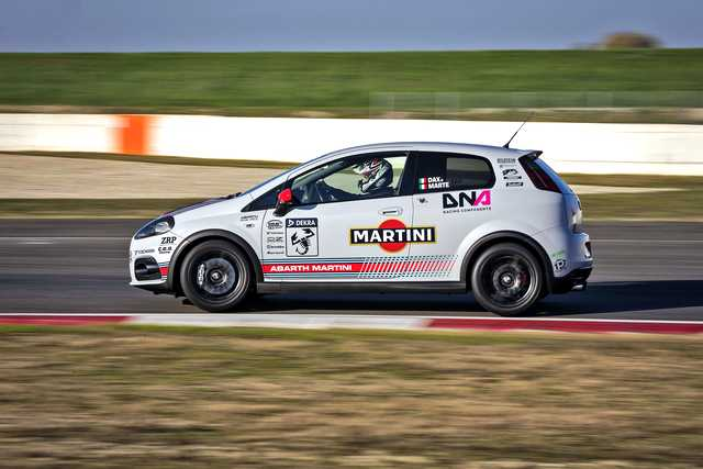Photo of Abarth Grande Punto SuperSport test in pista a Pavia