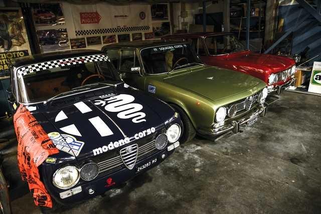 Marco Marelli Alfa Garage 66