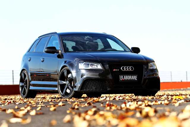 Photo of Audi RS 3 Sportback test in pista Pavia