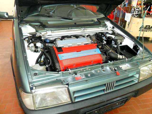 Photo of Fiat Uno Turbo elaborazione 250 CV
