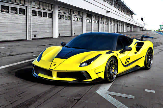 Photo of Mansory 4XX Siracusa top tuning 790 CV