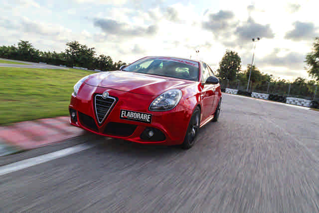 Photo of Alfa Romeo Giulietta QV test in pista