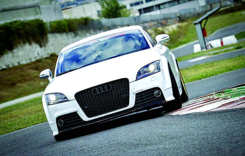 Photo of Audi TT TFSI S-Tronic test in pista Isam