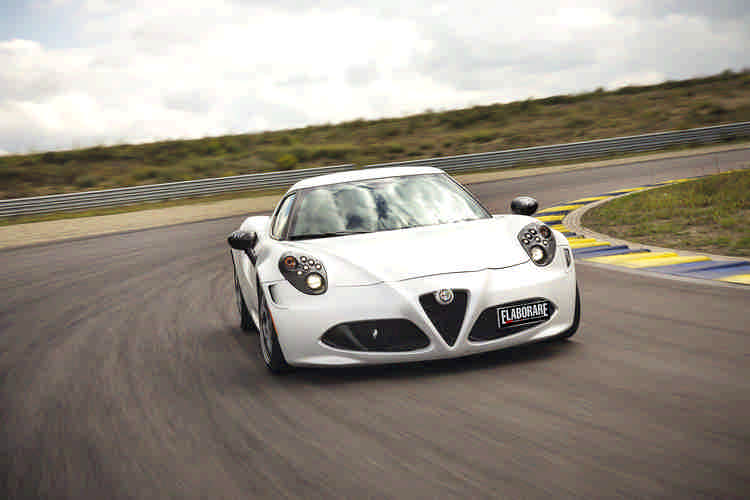 Photo of Alfa Romeo 4C test in pista Modena