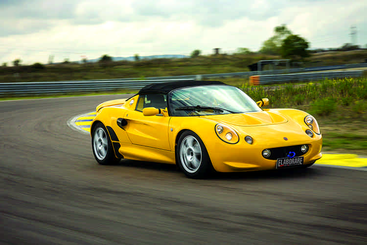 Photo of Lotus Elise 111S preparata test tuning