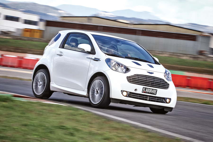 Photo of Aston Martin Cygnet preparazione 181 CV