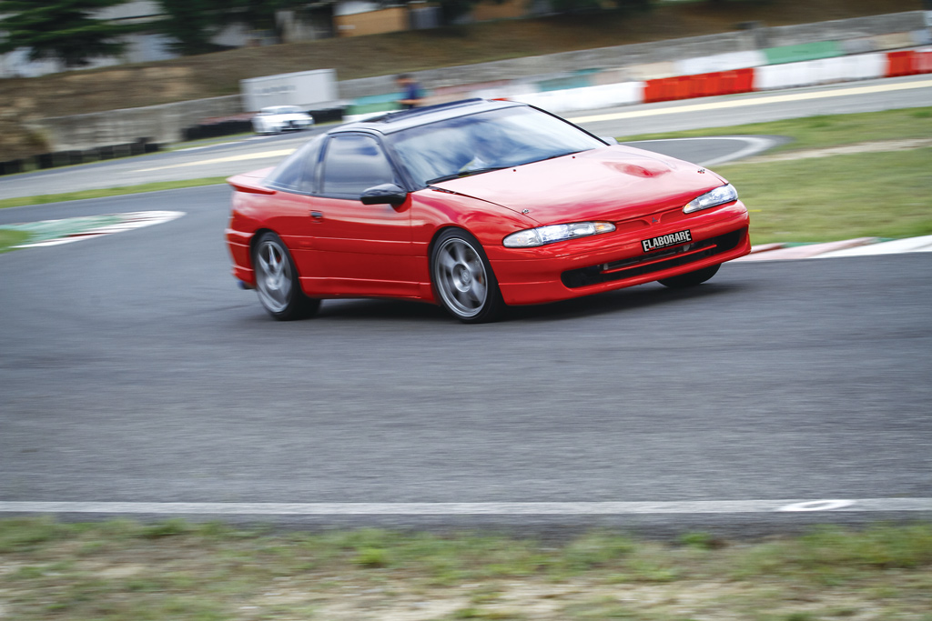 Photo of Mitsubishi Eclipse GSX preparazione 337 CV
