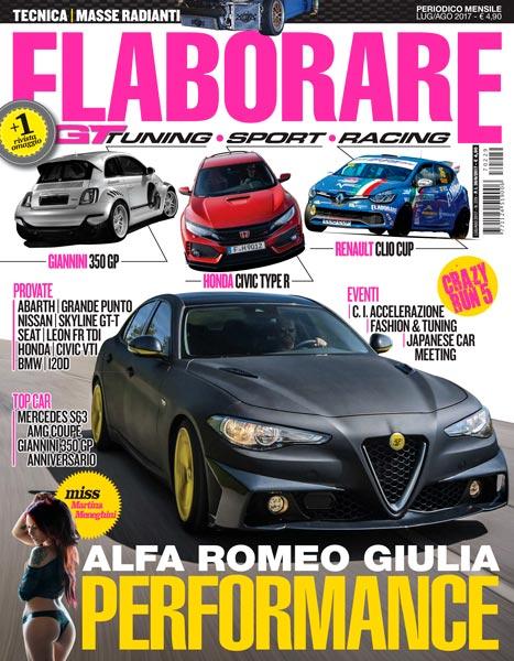Photo of Elaborare Luglio-Agosto 2017 n° 229 Alfa Romeo Giulia