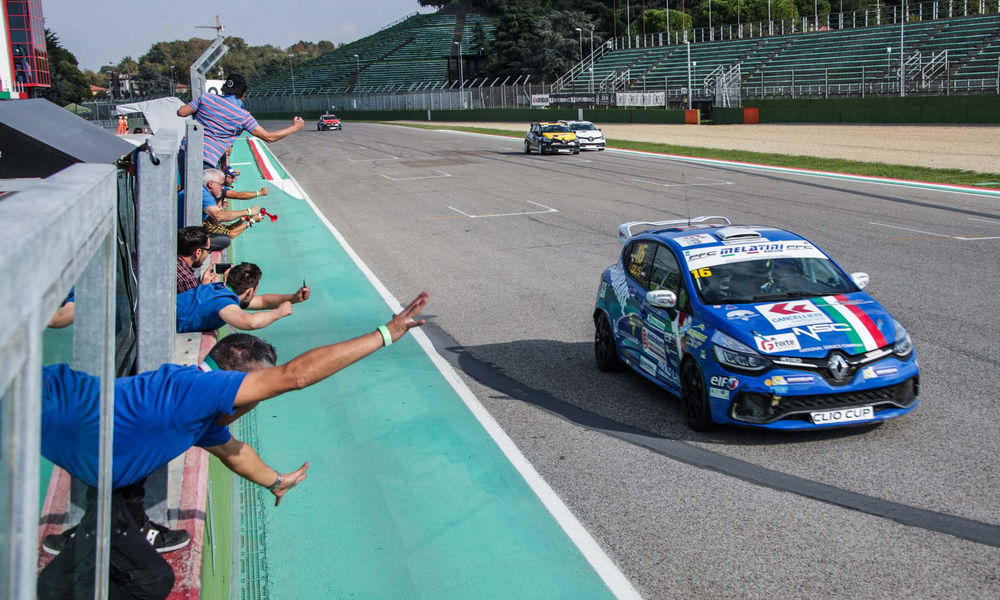 Renault Clio Cup Press Sandrucci Imola