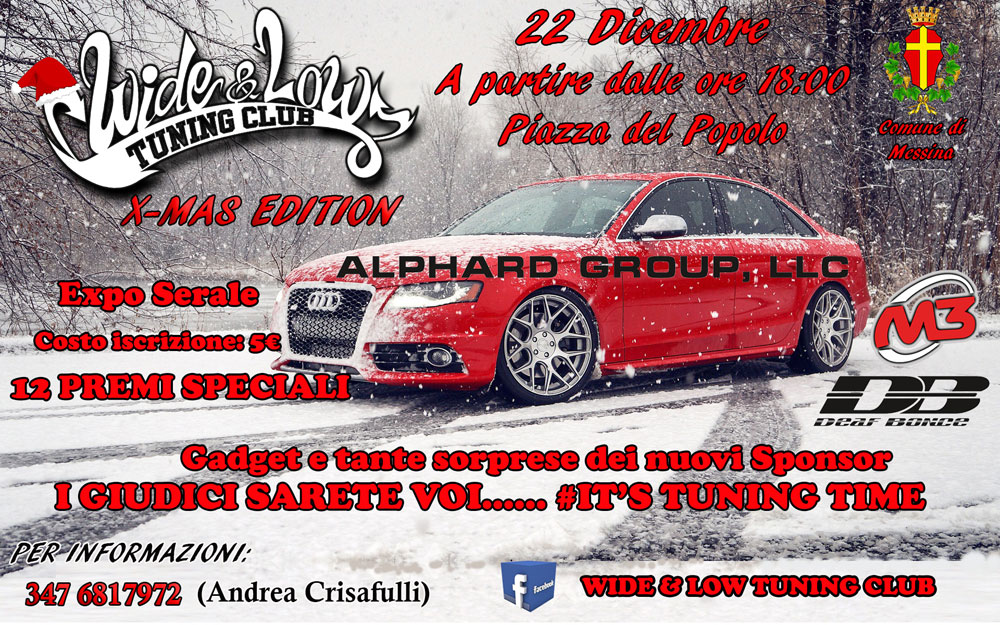 raduno Wide & Low tuning club X-mas edition