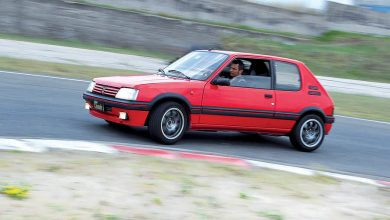 Photo of Peugeot 205 1.9 GTi elaborata auto storica test in pista