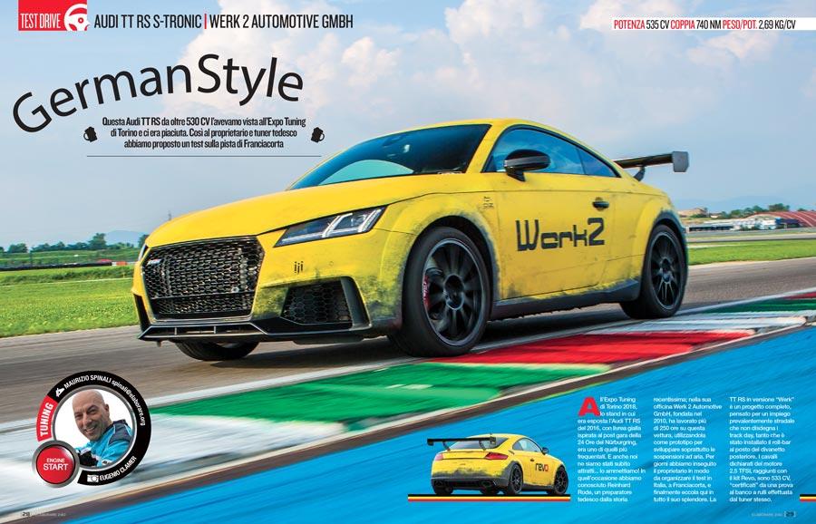 Audi TT RS S-Tronic by Werk 2 Automotive GmbH Elaborare 240