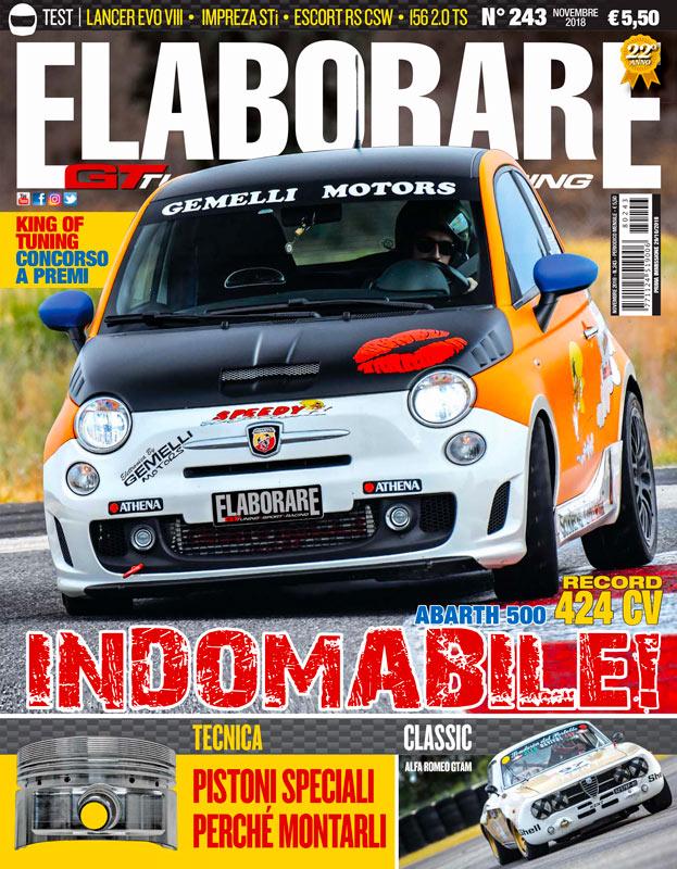 Cover Elaborare 243 magazine novembre 2018