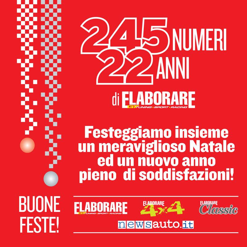 Buone Feste 2018 biglietto d'auguri