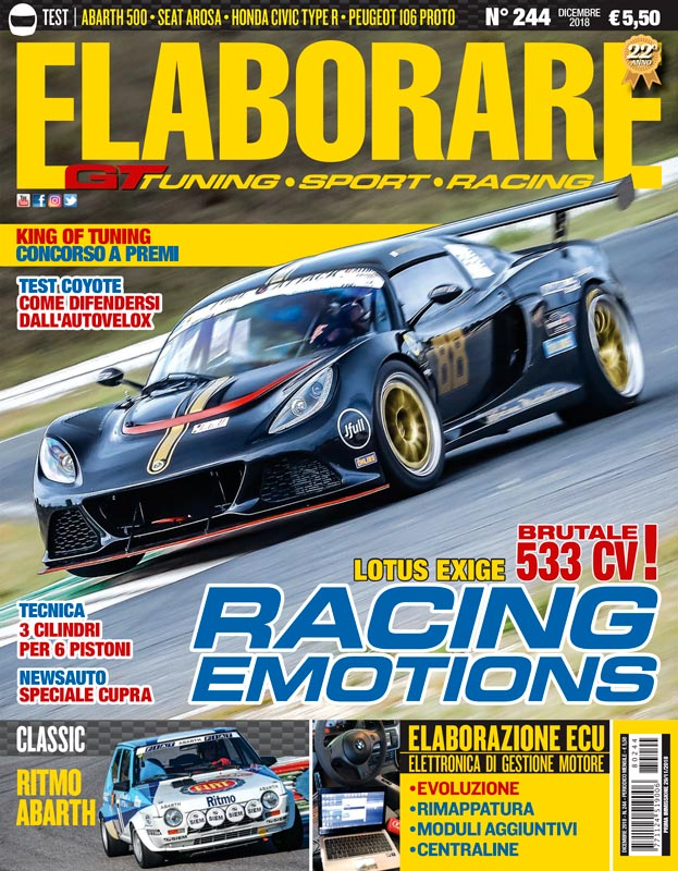 Cover Elaborare 244 dicembre 2018 - magazine
