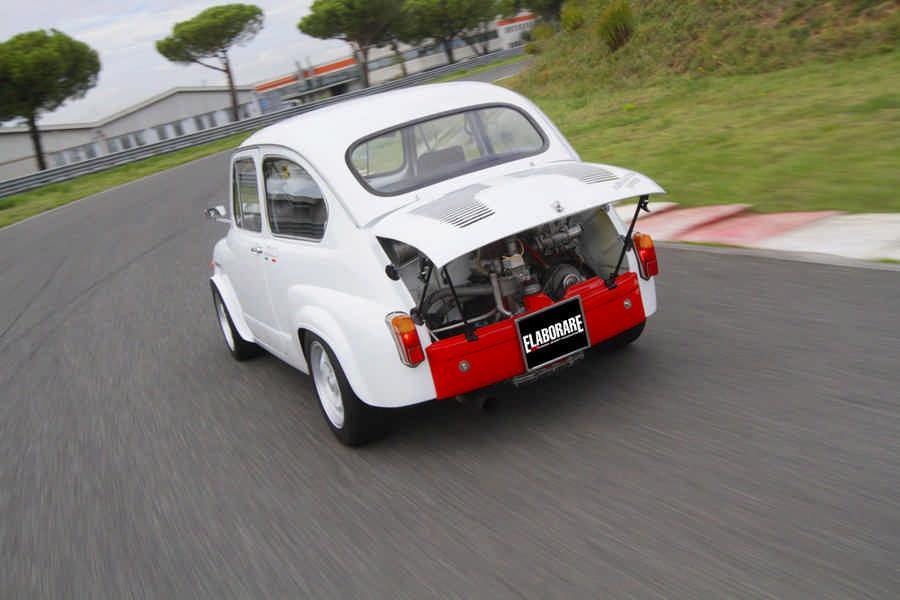 Fiat Abarth 1000 Berlina 1969 auto storica elaborata