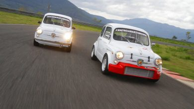 Photo of Fiat Abarth 850 TC e 1000 Berlina 1969 auto storiche elaborate + Poster