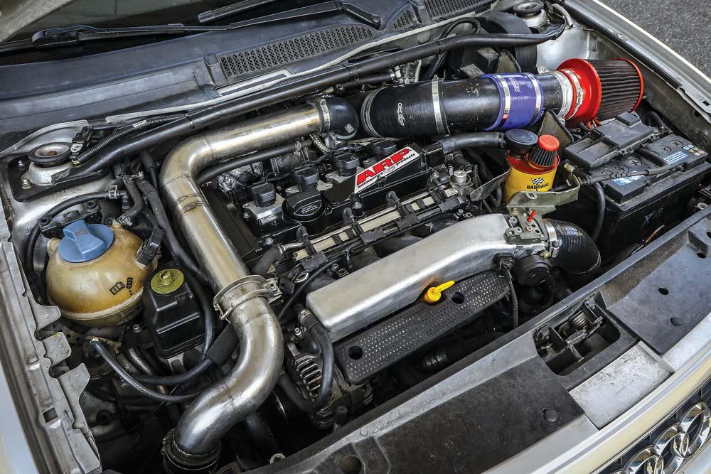 Audi S3 8L elaborata 490 CV con preparazione Brando Racing-motore