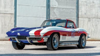 Photo of Chevrolet Corvette C2 auto storica americana elaborata da Buffalo Garage