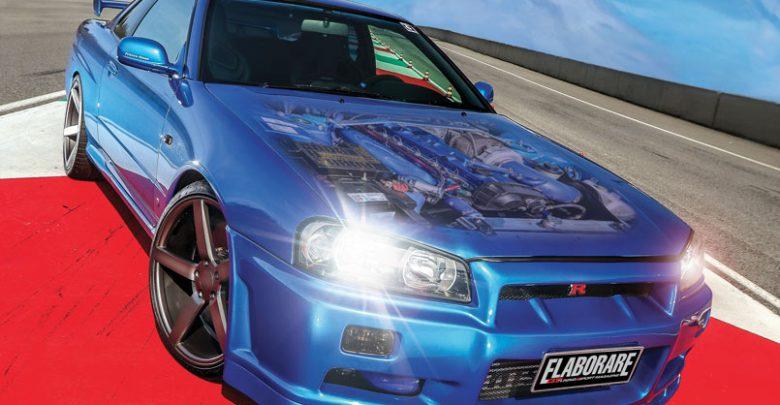 Elaborare Aprile n° 248 2019 - Nissan Skyline GT Turbo R34 562 CV