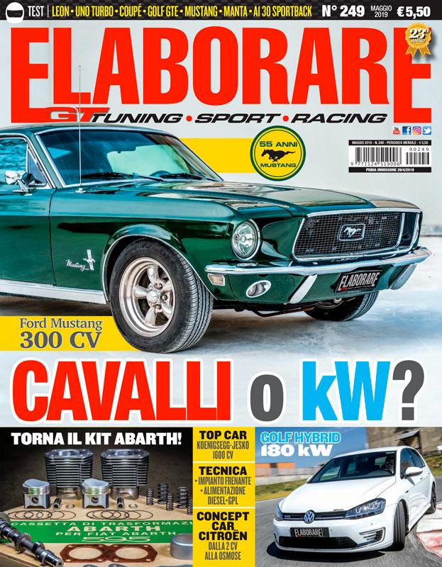 Cover Elaborare Maggio n° 249 2019
