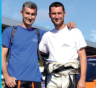 Gianluca e Rino Gabucci  titolari di Gabucci Autotecnica Elaborare Check Point