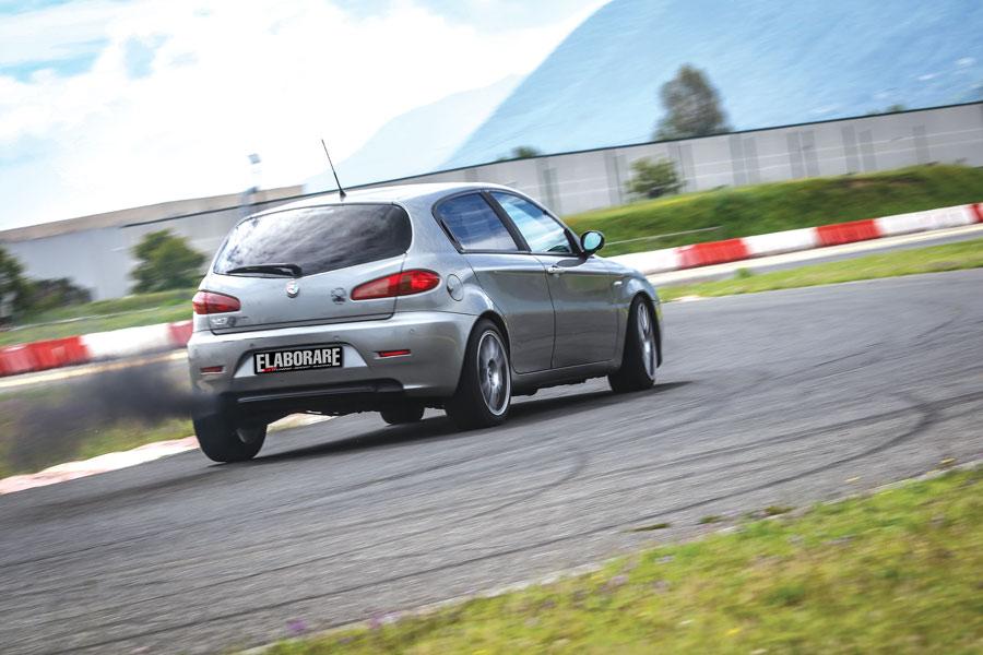 Alfa Romeo 147 JTDm elaborata 384 CV con preparazione Black MaxAlfa Romeo 147 JTDm elaborata 384 CV con preparazione Black Max