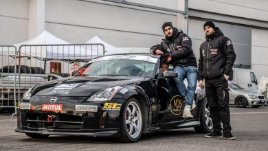 Taxi Drift all'Autoshow Elaborare Day a Modena