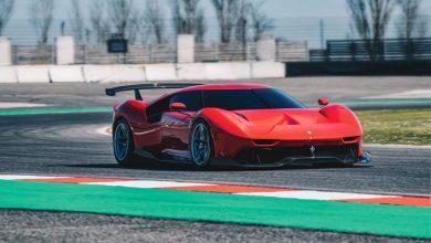 Ferrari P80/C top car elaborazione 800 CV