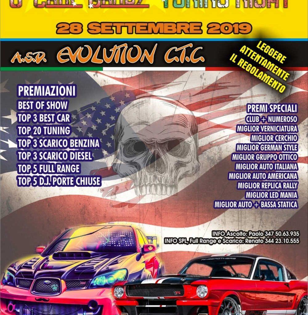 "6° Camp Darby ""Tuning Night"" a Pisa"