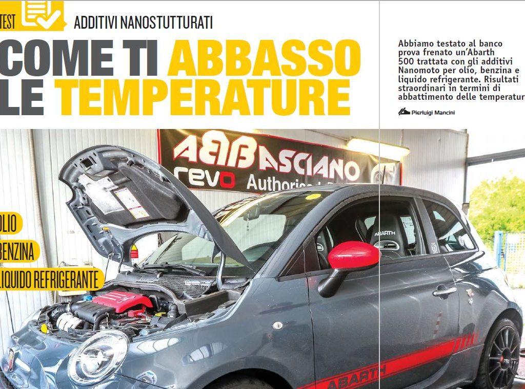 Come abbassare sull'auto  le temperature di olio, benzina e liquido refrigerante con additivi nanostrutturati