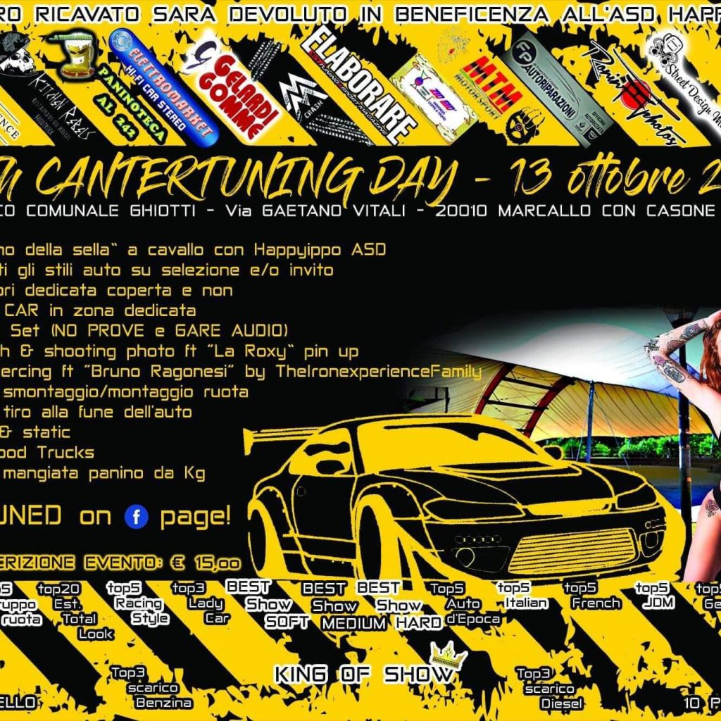 13h Cantertuning Day