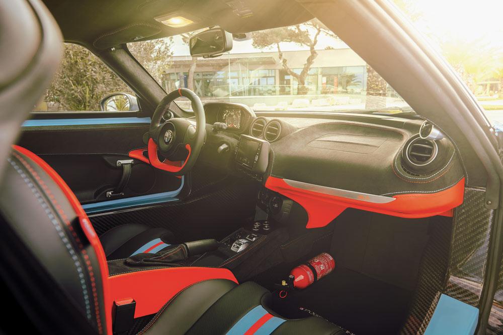 Alfa Romeo 4C Zeus top car elaborazione 351 CV