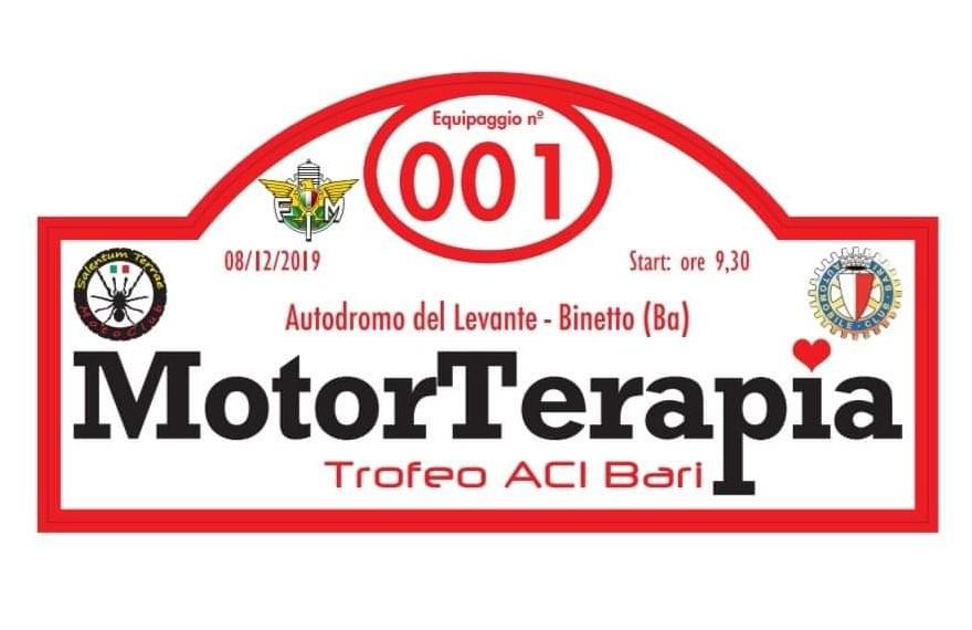 """1ª Giornata della """"MotorTerapia, trofeo ACI Bari"""""""