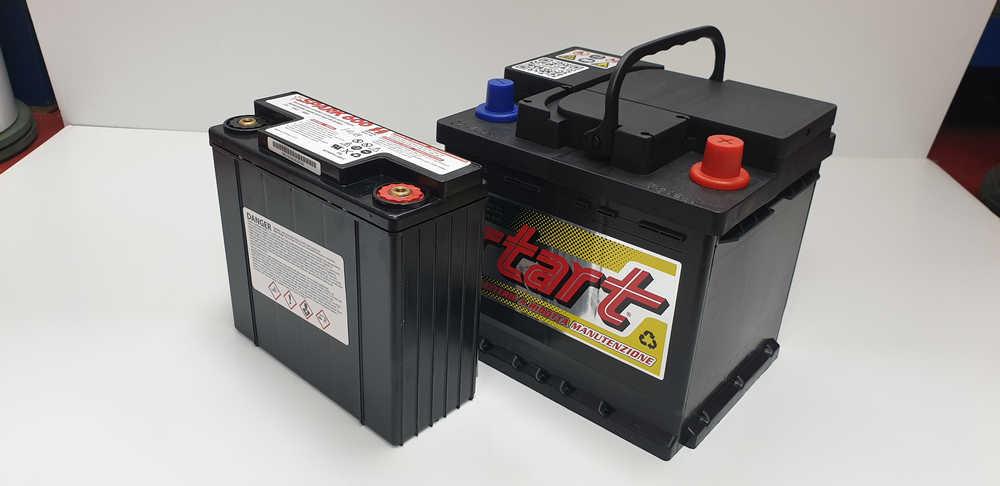 Batterie auto - Batteria standard e batteria gel