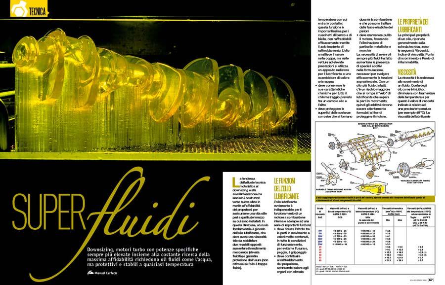 Oli fluidi, come aumentare le prestazioni dell'auto con i lubrificanti più adatti