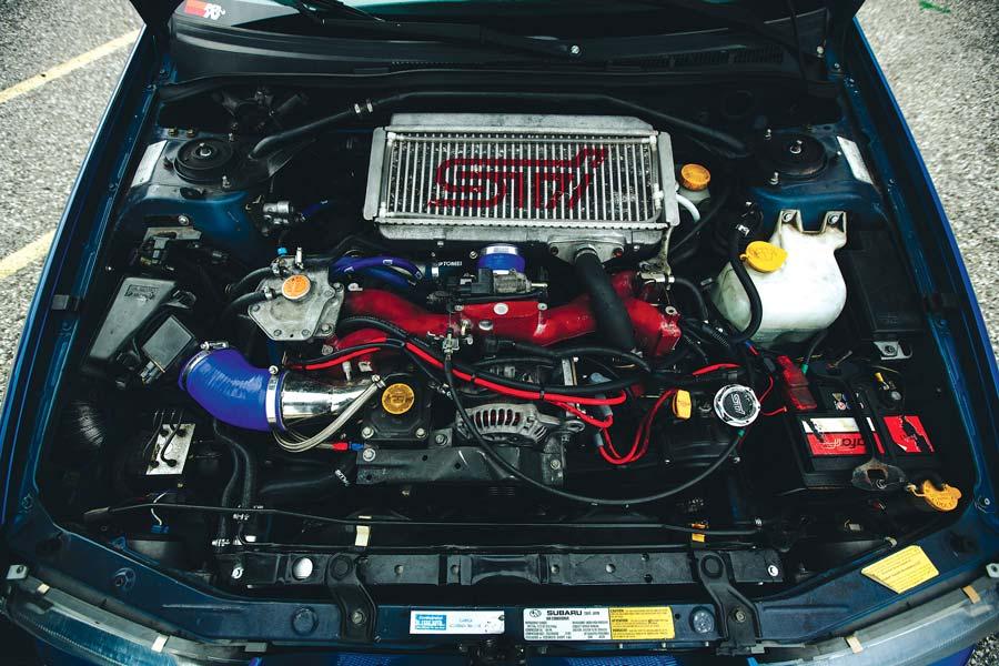 Subaru Impreza WRX - motore