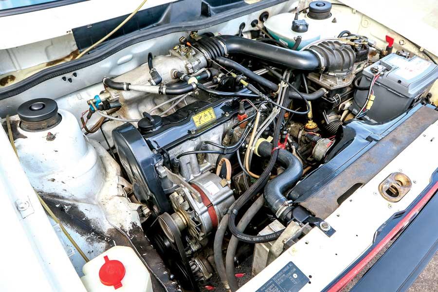Volkswagen Golf MK1 GTI  - Motore