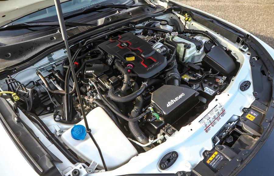 Abarth 124 spider motore multiair elaborato