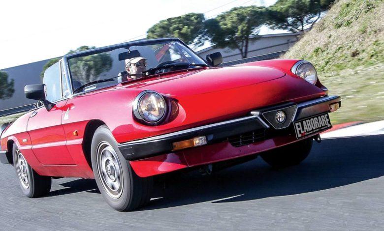 Alfa Romeo Spider Duetto Classic elaborare 259 aprile 2020