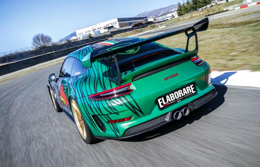 Porsche 991 GT3 RS by Scuderia Forieri vista posteriore