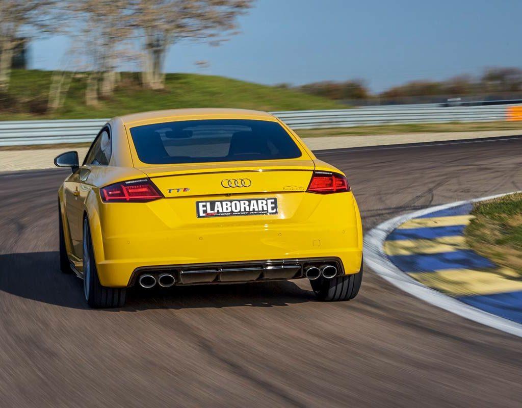 Audi TTS S-Tronic quattro 400 CV - posteriore