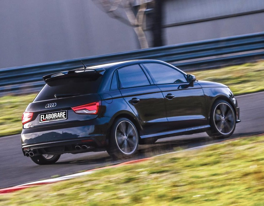 Audi S1 by Team Power Tecnic - posteriore